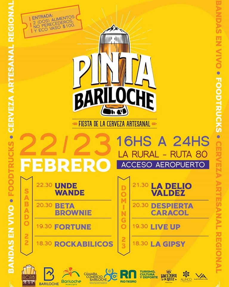 Pinta Bariloche, la Fiesta de la Cerveza Artesanal