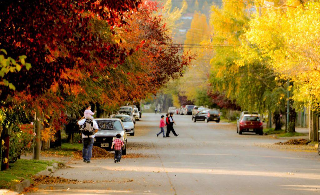San Martín de los Andes y el otoño